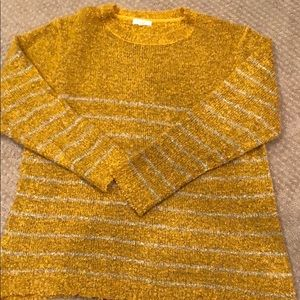 Easel Mustard coloured sweater